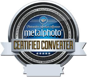 Metalphoto Certified Converter