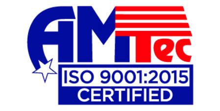 AMTEC ISO 9001:2015 Certified